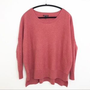 EILEEN FISHER | 100% Cashmere High Low Sweater M